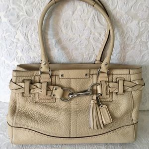 COACH Authentic Horse & Bit Style  Top Handle Bag